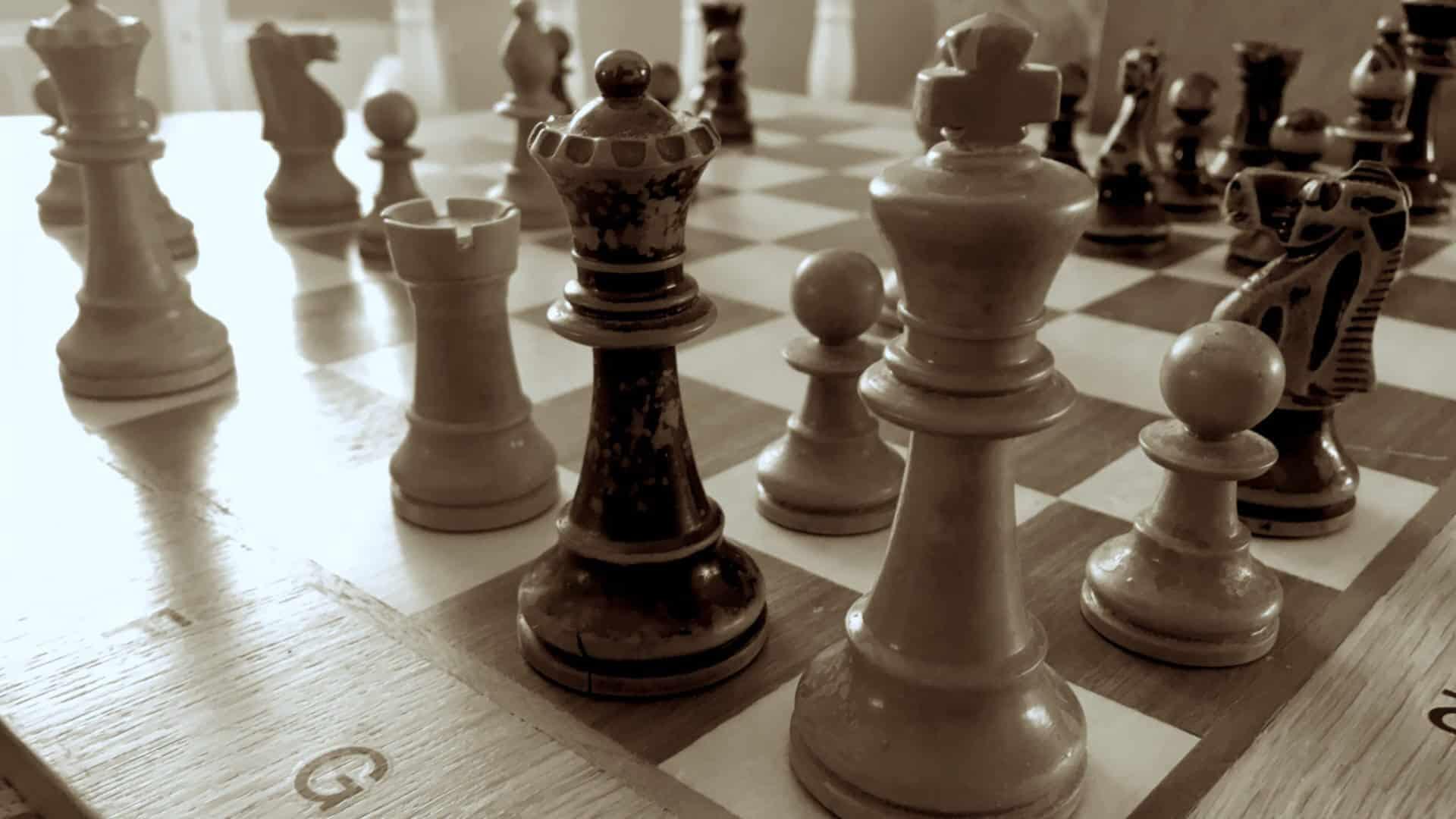 Schach Wie Viele Figuren