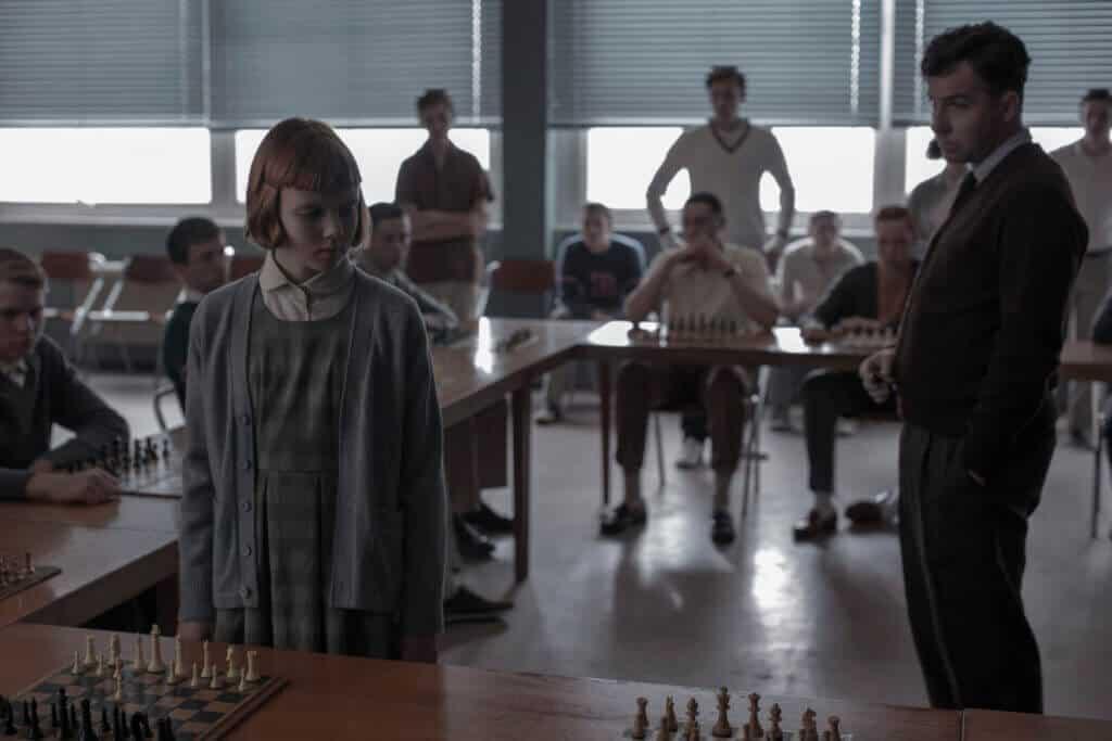 Frau und Schach - Das Damengambit